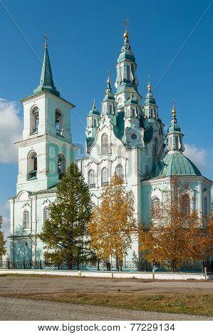 Church of the Transfiguration.N.Sinyachikha.Russia