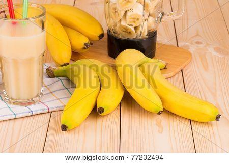 Bananas and banana juice