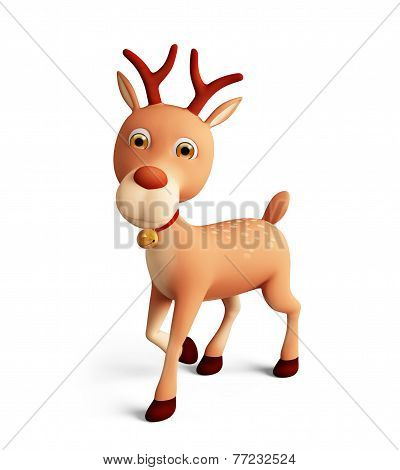 3D Reindeer For Christmas