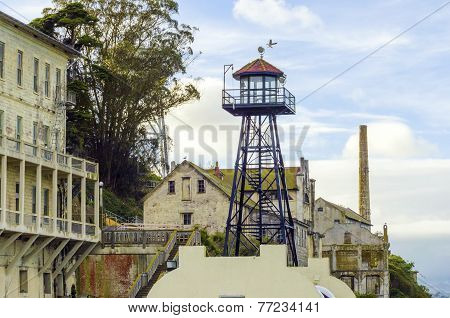 Alcatraz Guard Tower, San Francisco, California