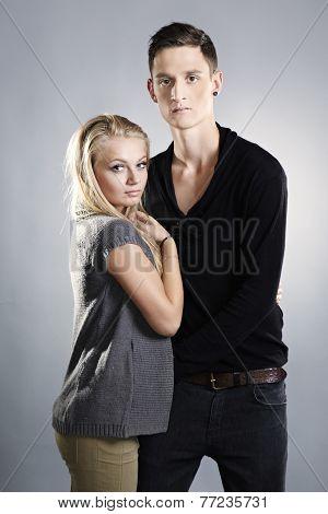 Loving Couple Posing