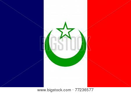 French Morocco Flag