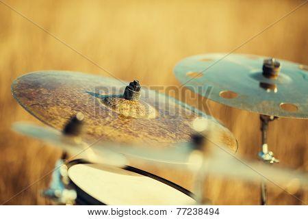 Close Up Ride Cymbal