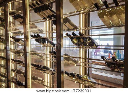 Wine glass cabin