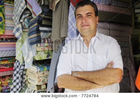 Portrait Of A Retail Store Owner