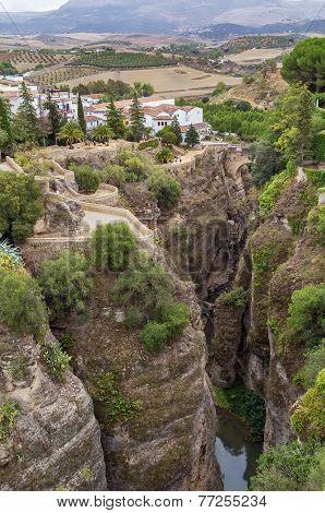 Canyon In Ronda, Spain