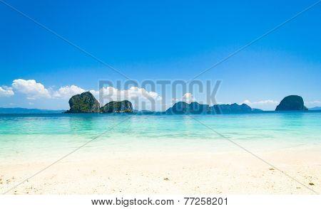 Remote Resort Paradise Wallpaper