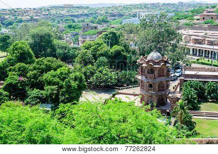 Ruins Of Temples Of Ancient City Of Mandor