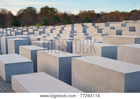 Jewish Holocaust Memorial, Berlin