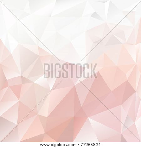 Vector Polygonal Background With Irregular Tessellations Pattern P