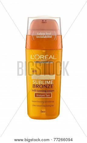L'oreal Sublime Bronze Self-tanning Face Cream 30 Ml