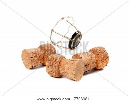 Three Corks From Champagne