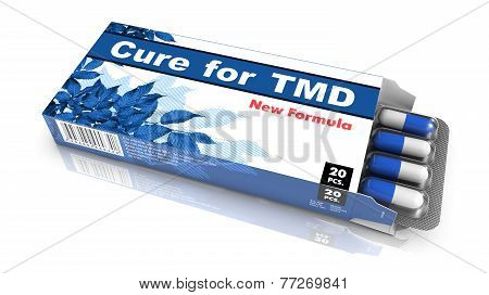 Cure For TMD, Red Open Blister Pack.