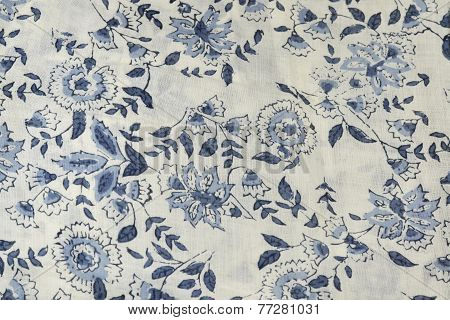 A Fabric With Flowers