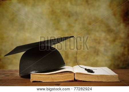 book and background graduation