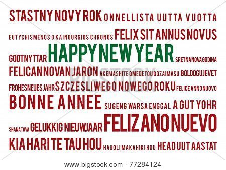 Happy New Year in 22 world languages