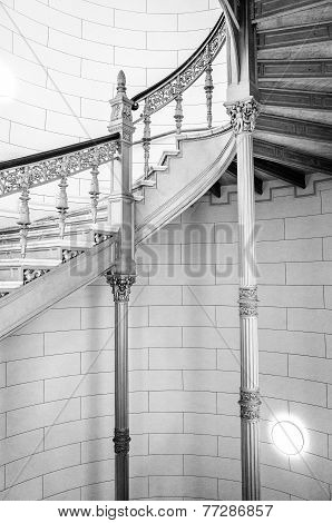 Schwerin Palace staircase