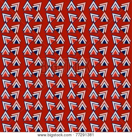 Triangles Pattern Geometric Background For Use In Design