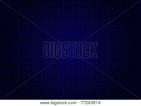 illustration - background of blue laser grid