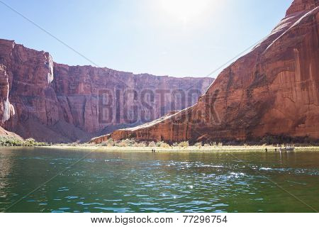 Inside Horse Shoe Bend