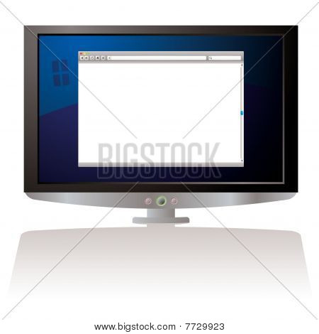 Lcd Web Browser Monitor