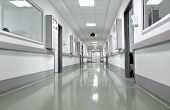 picture of icu  - hospital corridor - JPG