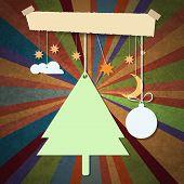 stock photo of merry christmas text  - Merry Christmas design - JPG