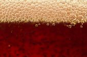 stock photo of transpiration  - Macro shot of bubbles in a glass of soda - JPG