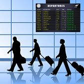 Airport - Set 1 - Passengers Departing