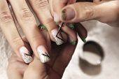 foto of nail  - Making nails  - JPG