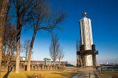 pic of kiev  - Kiev Pechersk Lavra Kyiv Pechersk Lavra, Cathedral of the Dormition in Kiev, Ukraine ** Note: Soft Focus at 100%, best at smaller sizes - JPG