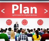image of objectives  - Plan Strategy Goals Objective Seminar Conference Learning Concept - JPG