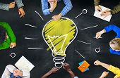 picture of seminar  - Ideas Thoughts Knowledge Intelligence Learning Thoughts Meeting Concept - JPG