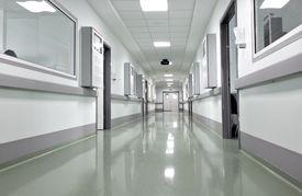 image of icu  - hospital corridor - JPG