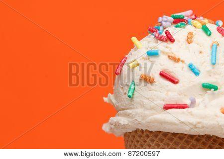 Ice cream with topics