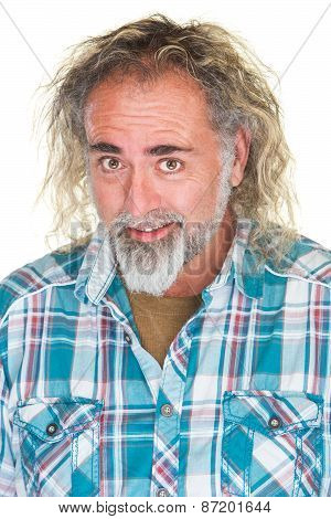 Happy Guy With Beard