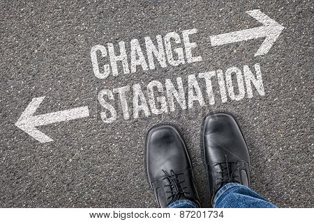 Decision At A Crossroad - Change Or Stagnation