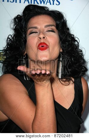 LOS ANGELES - APR 1:  Rebekah Del Rio at the The Music Of David Lynch at the Ace Hotel on April 1, 2015 in Los Angeles, CA