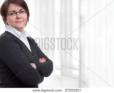 Business Woman Arms Folded