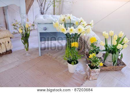 Vase Of Daffodils