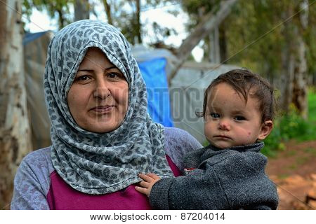 Portrait Of Refugees