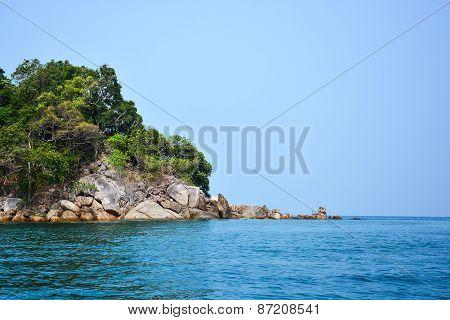 Island In Andaman Sea, Thailand