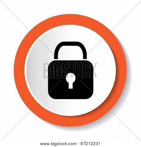 Vector lock icon