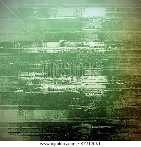 Rough vintage texture. With different color patterns: brown; gray; green