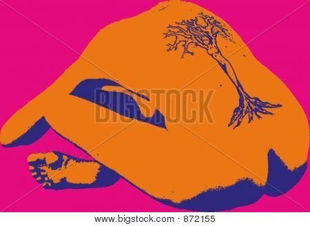 Yoga arte pop