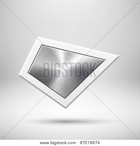 Abstract Geometric Button Template