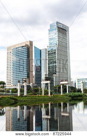 Marginal Pinheiros in Sao Paulo, Brazil