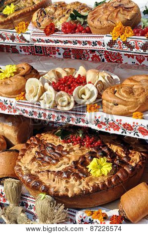 Traditional Ukrainian Bakery Holiday Dessert Food