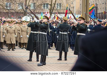 Independence Day In Vilnius