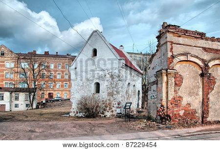 Vyborg. Russia. The House of the Guild of Merchants